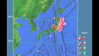 東北関東大地震の2日前の前兆現象 thumbnail