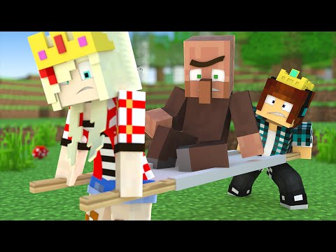 Minecraft : O VILLAGER ESTA DOENTE !! - Minecraft Reino #13