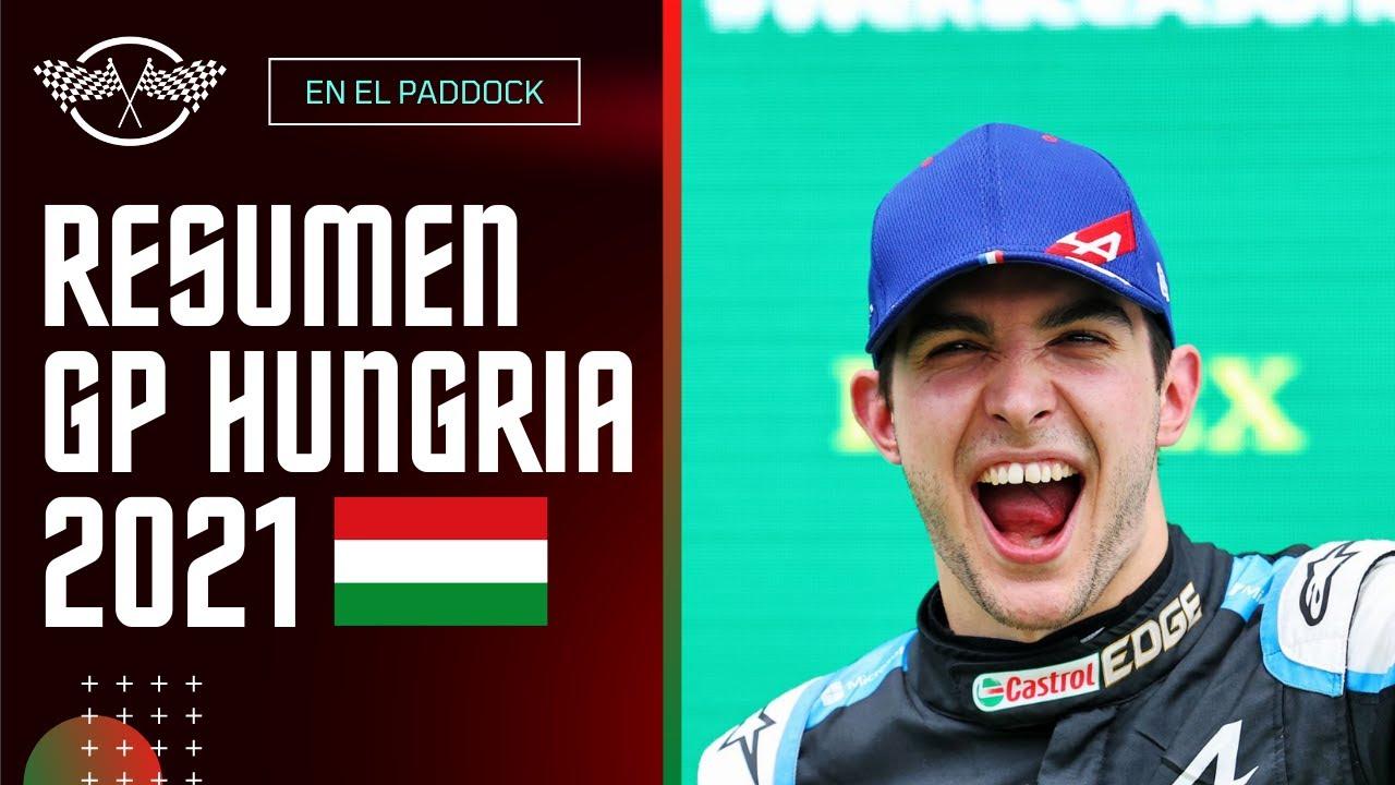 BOTTAS ARRUINA A LOS REDBULL | Resumen Gran Premio de Hungria 2021