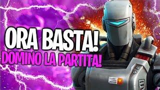 ORA BASTA! 15 KILLS CON NUOVA SKIN A.I.M.! STAVOLTA LA DOMINO LA PARTITA! Fortnite By FortuTheGamer