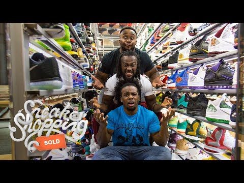 The New Day Goes Sneaker Shopping With Complex