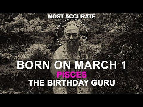 Born on March 1 | Birthday | #aboutyourbirthday | Sample