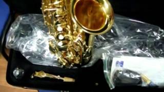 видео Купить саксофон баритон по лучшей цене в Москве в Магазине Мьюзик-Стор