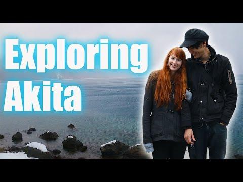 Exploring Akita with Rachel and Jun