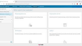 Visma.net Expensen pääkäyttäjätoiminnot