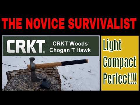 CRKT Woods Chogan T Hawk - Awesome, Once I Sharpened It