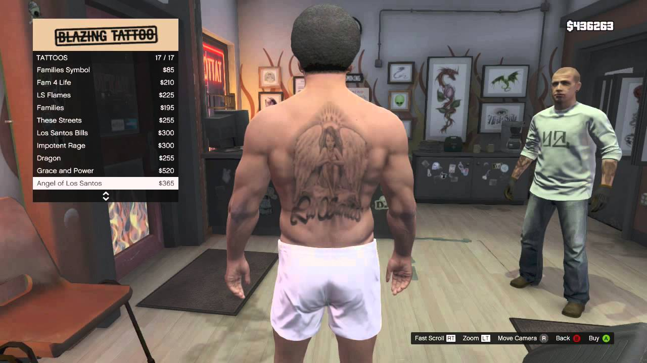 How To Get Rid Of Tattoos In Gta 5 Online