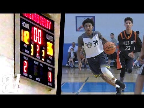 Middle School Team Scores 112 Points?! Vegas Elite VS SDA Full Highlights