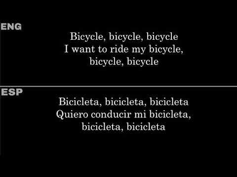 Bicycle Race (Queen) — Lyrics/Letra En Español E Inglés