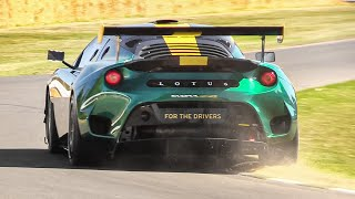 Lotus Evora GT4 Concept in action w/ GREAT Supercharged 3.5 V6 Sound!
