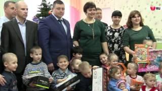 """Полицейские поздравили """"аистят"""" с Новым годом"""