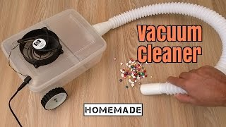 How to Make a Vacuum Cleaner - Homemade...