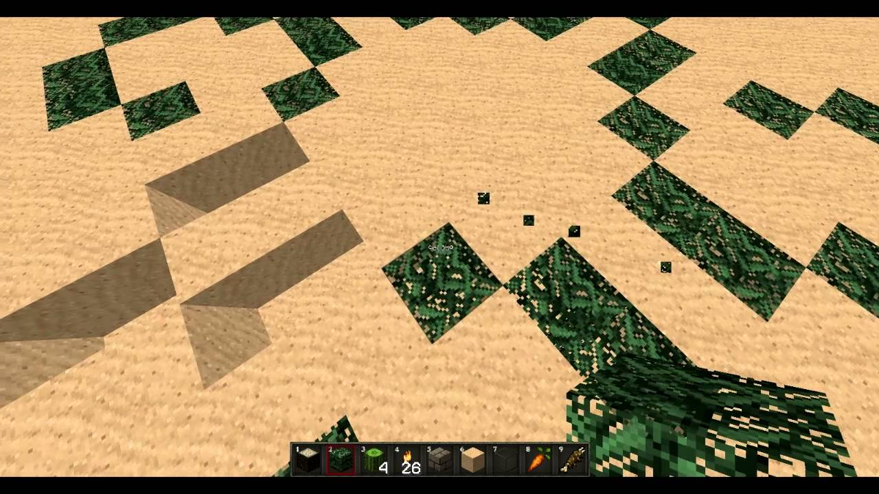 jardin minecraft plan Minecraft Tuto plan ou (création )pour jardin (ou ville)