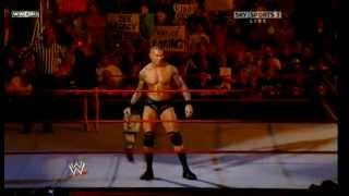 Randy Orton vs. Evan Bourne, Jack Swagger & Mark Henry [Gauntlet Match, RAW 06.29.2009]
