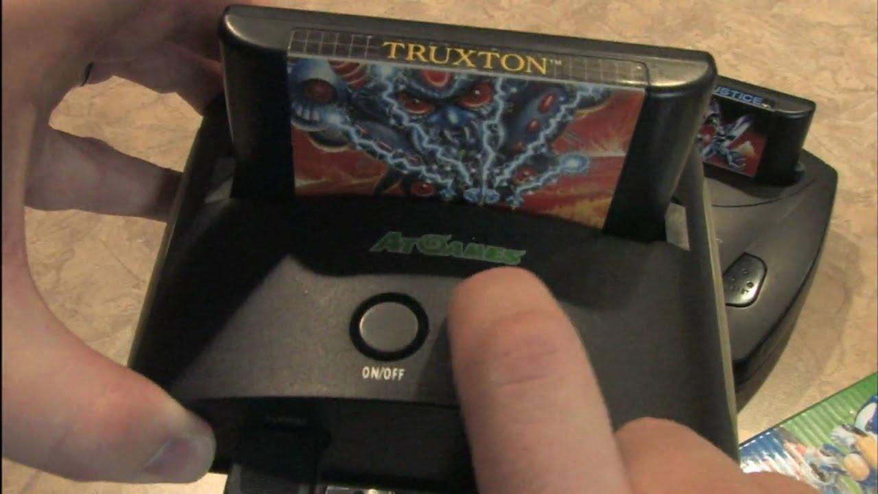 Classic Game Room Atgames Sega Mega Drive 20 In 1 Game Console