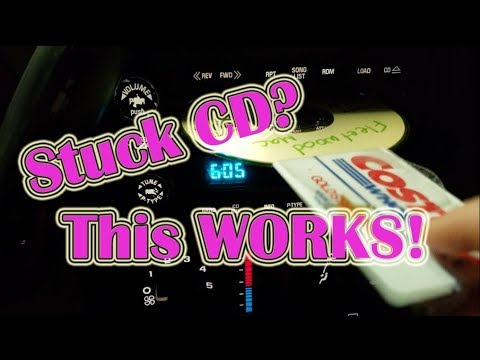 how-to-fix-a-stuck-cd-in-your-car-stereo.-it-works!