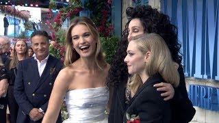 MAMMA MIA! 2 Here We Go Again WORLD PREMIERE - Meryl Streep, Cher, Lily James, Amanda Seyfried