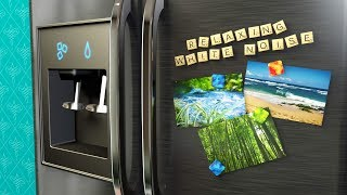 Refrigerator Sound for Sleep Studying or to Soothe a Colicky Baby  White Noise 10 Hours