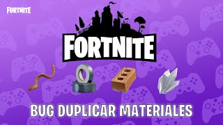 *DUPLICATING MATERIALS*HOW TO BUILD THE PLATFORM?*FORTNITE SAVE THE WORLD*