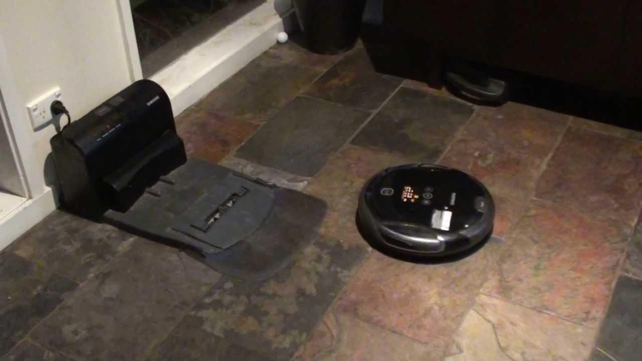 broken samsung navibot sr8980 returned for repairs less than 9 months old youtube. Black Bedroom Furniture Sets. Home Design Ideas