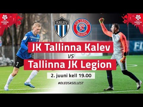 JK TALLINNA KALEV - TALLINNA JK LEGION PREMIUM LIIGA 5. voor