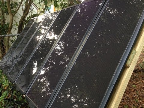 DIY Swiveling Solar Panel Array