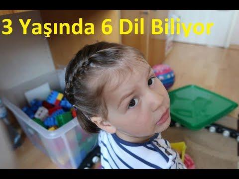 3 Yaşında 6 Dil Bilen Ferhat Yıldız'ın Kızı (B2 Almanca B2 İNGİLİZCE)