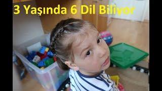 3 Yaşında 6 Dil Bilen Ferhat Yıldızın kızı (B2 Almanca B2 İNGİLİZCE)