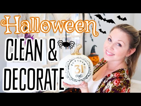 CLEAN & DECORATE WITH ME 2019 | CLEAN WITH ME 2019 | FALL DECORATING IDEAS