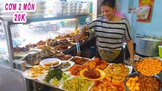 Quán Cơm 2 Món | Bất ngờ dĩa cơm chỉ 20k siêu rẻ 25 năm ở Sài Gòn