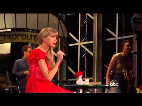 Taylor Swift - Begin Again Live CMA Awards 2012 .