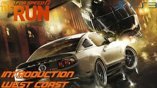 Need for Speed The Run (PS3) - Introduction Stage [West Coast]