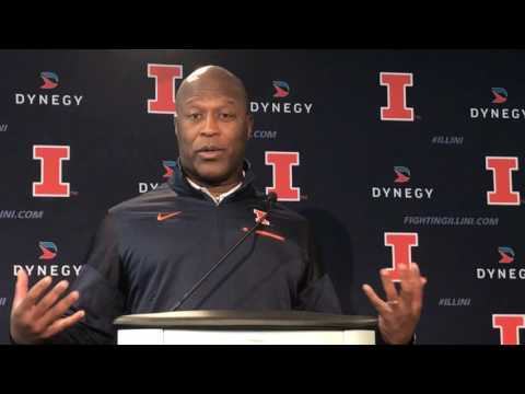 Illinois' Smith talks recruiting and future of the team