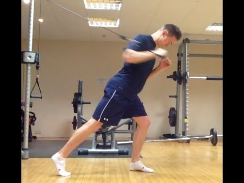 Golf Fitness Five-in-5: Upper Body Pushing/Pressing Exercises