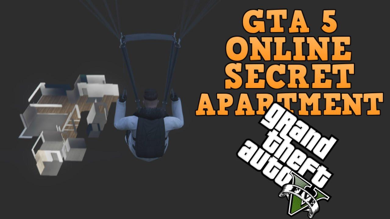 GTA 5 online SECRET Apartment! (Under The Map Glitch ...