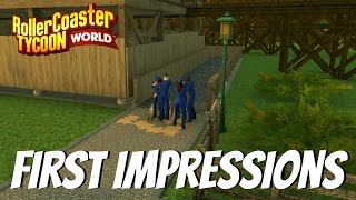 Roller Coaster Tycoon World - First Impression - Is It Really That Bad?