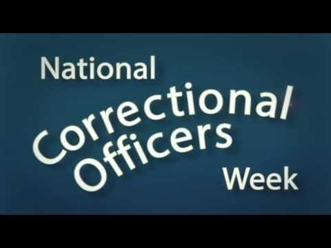 Correctional Officer Week 2013 - YouTube
