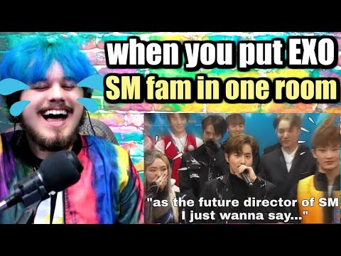 when you put EXO and SM fam in one room | I LOST IT LOL! | REACTION!!