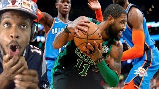 KYRIE BATTLES RUSSELL!! THUNDER vs CELTICS HIGHLIGHTS