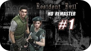 Resident Evil HD Remaster - Gameplay Español - Capitulo 1 - 1080p HD