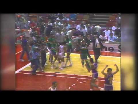 1985 NBA Playoffs: Utah Jazz eliminate Houston Rockets in Game 5