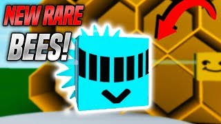 RARE NEW BEES IN BEE SWARM SIMULATOR! (Roblox)