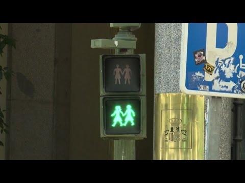 A Madrid I Semafori Gay-friendly In Vista Del Pride