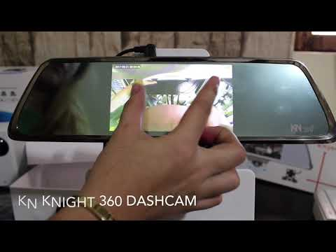 KN NIGHT 360 Dashcam Video