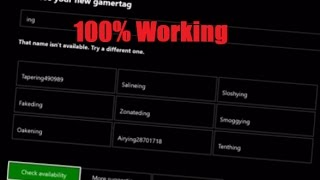 How to get an OG Xbox LIVE Gamertag   EASY!!!