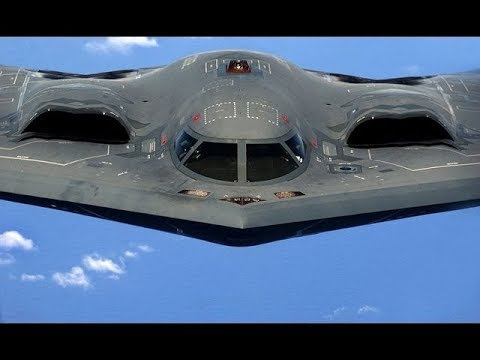 Worlds MOST ADVANCED US Air Force B-2 Military Aircraft Aerial Refueling