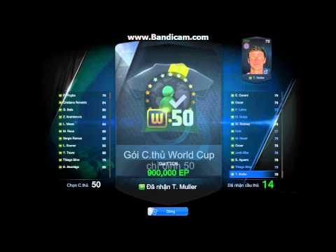 [ FIFA ONLINE 3 ] Mo hop bach kim thang 8 PART 1.