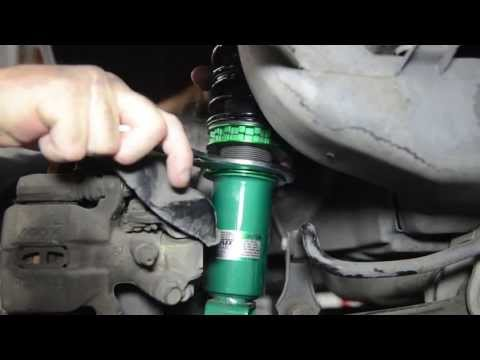 How do I adjust the ride height on my coilovers? Presented By Andy's Auto Sport