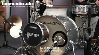 Solomon SubKick, Yamaha Subkick, Mojave 201 Fet Sound Comparison