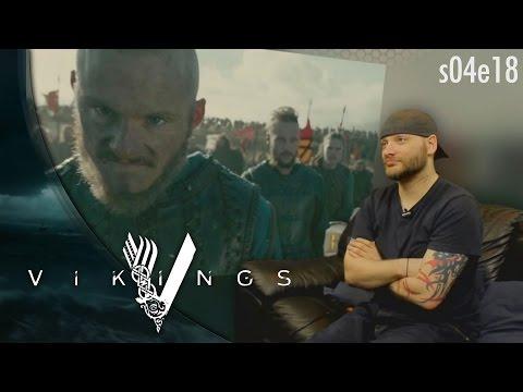 """Vikings: s04e18 """"Revenge"""" REACTION!!"""